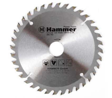 Круг пильный твердосплавный HAMMER CSB WD 130мм*36*20/16мм