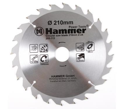 ���� ������� �������������� HAMMER CSB WD 210��*24*30/20��