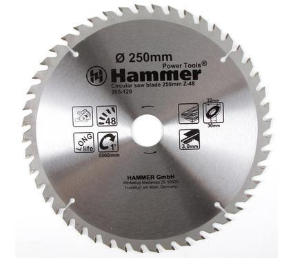 ���� ������� �������������� HAMMER CSB WD 250��*48*32/30��