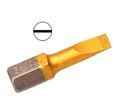 Бита HAMMER PB SL-0,6*4,5 25mm (2pcs)