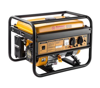 Бензиновый генератор HAMMER GNR 3000 LE бензиновый