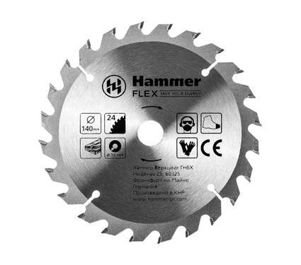 Круг пильный твердосплавный HAMMER 205-129 CSB WD