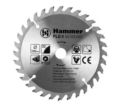Диск пильный твердосплавный HAMMER 205-130 CSB WD
