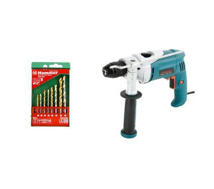 �����: ����� ������� HAMMER UDD710� PREMIUM + ����� ������ Hammer Flex 202-902 DR set No2 (8pcs)