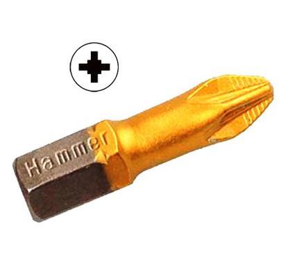 Бита HAMMER PB PZ-2 25mm (3pcs)