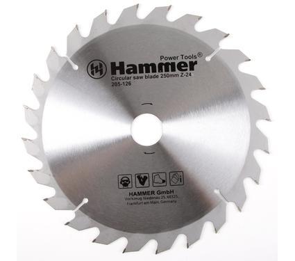 Диск пильный твердосплавный HAMMER CSB WD 250мм*24*32/30мм