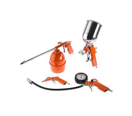 Набор пневмоинструмента WESTER STG-10 набор пневматический (5 шт.)