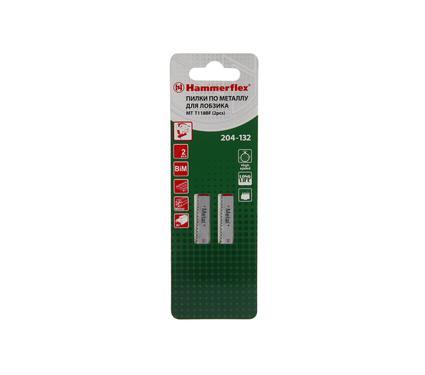 Пилки для лобзика HAMMER 204-132 JG WD T118BF (2 шт.)