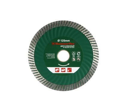 Круг алмазный HAMMER 206-137 DB TB HELICOID 125*22мм