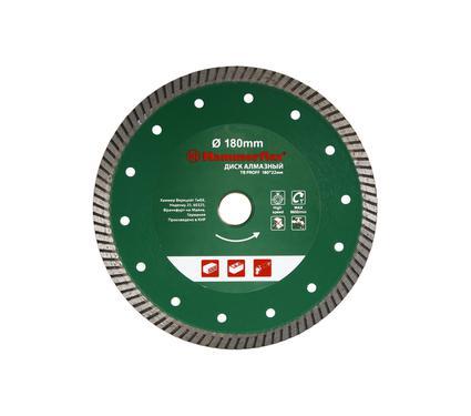 Круг алмазный HAMMER 206-154 DB TB PROFF 180*22мм