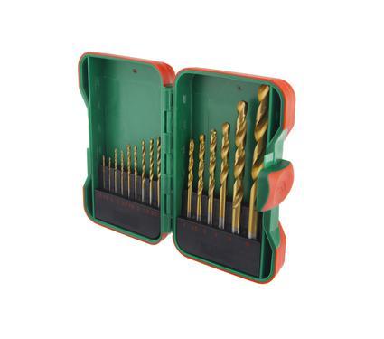 Набор сверл HAMMER DR set No18 (15pcs) 1,0-10mm