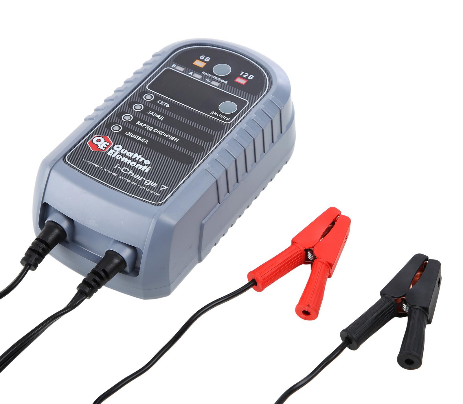 Зарядное устройство для всех типов аккумуляторов 36126